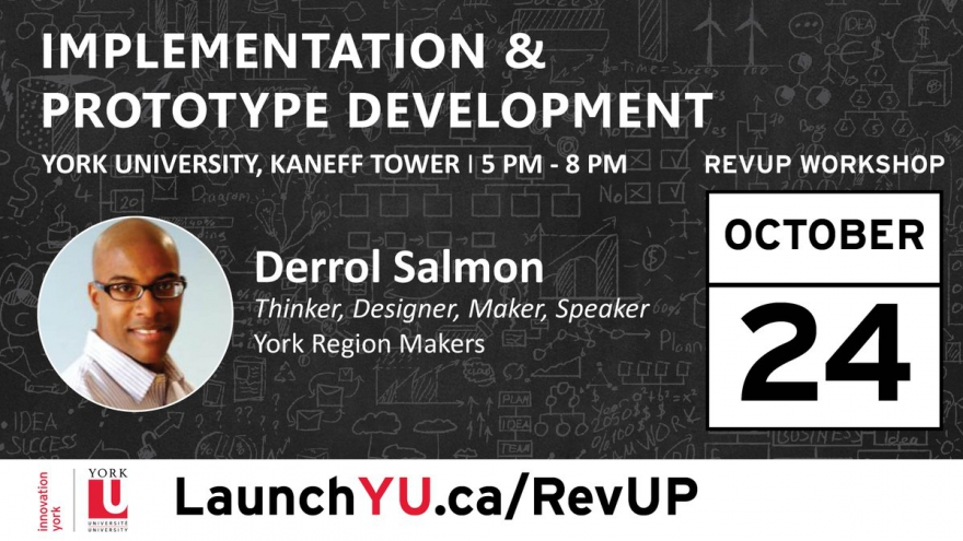 Not Sure How To Develop Your #Prototype? Join Us Tonight & Learn The Essentials With @DerrolSalmon @LaunchYU_York @matrixthinker