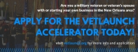 VetLaunch Is Accepting Applications For Its 2017 Business Accelerator, $25,000 Available @vetlaunchnola @matrixthinker