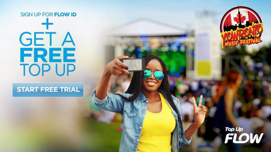 Call Your Dad With Free TopUp Credits From FLOW Mobile and @YOWronto Music Festival #tessannechin #topupflow