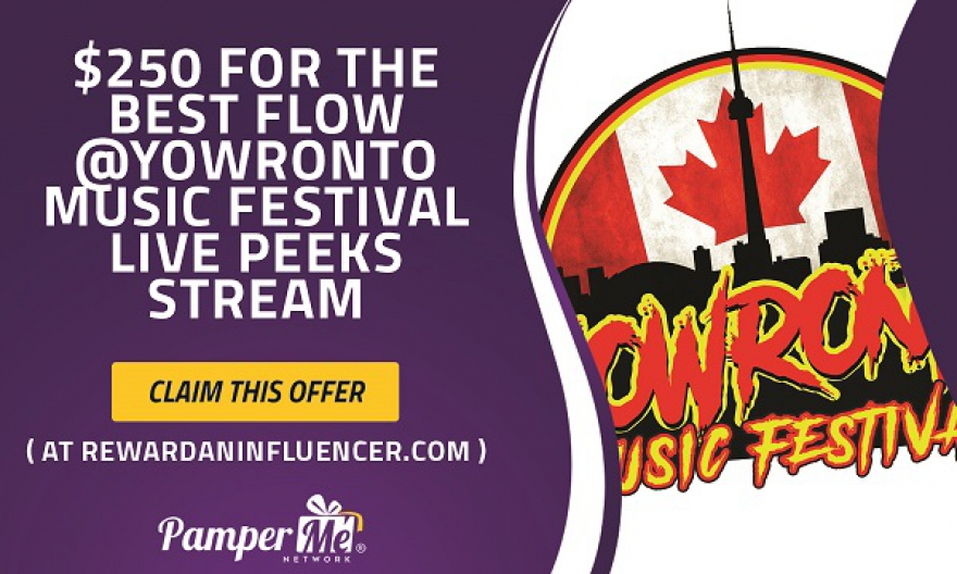 Do You Have What It Takes To Host A Live FLOW @YOWronto Music Festival #Peeks Broadcast? Submit Your Bio @matrixthinker #videographer