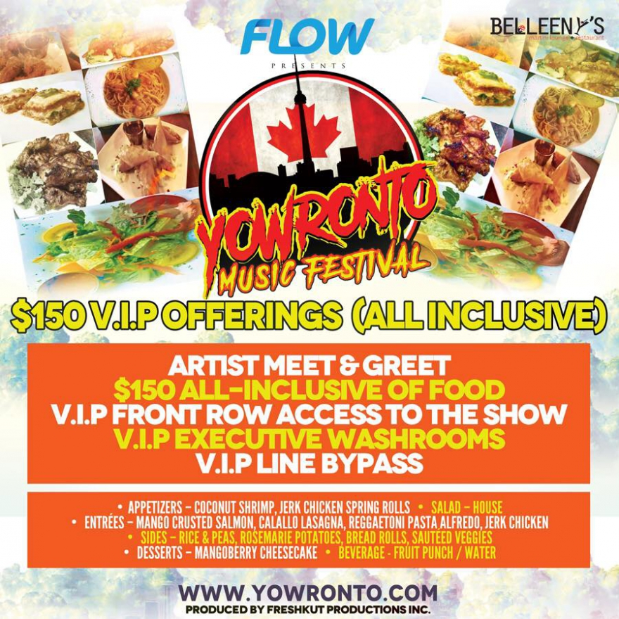 FLOW @YOWronto Is Best Experienced As VIP: Tented Area, Unlimited Dining, Private Stage Access @belleenys #foodie @matrixthinker #foodies #canada150