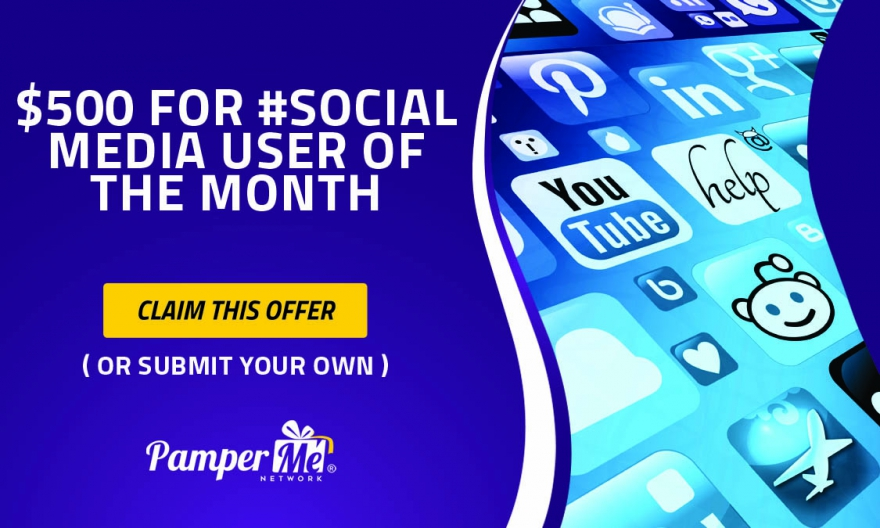 $500 To PMN #SocialInfluencer Of The Month - Get Rewarded For Promoting Yourself @matrixthinker #contest #experts #artists #models #comedians