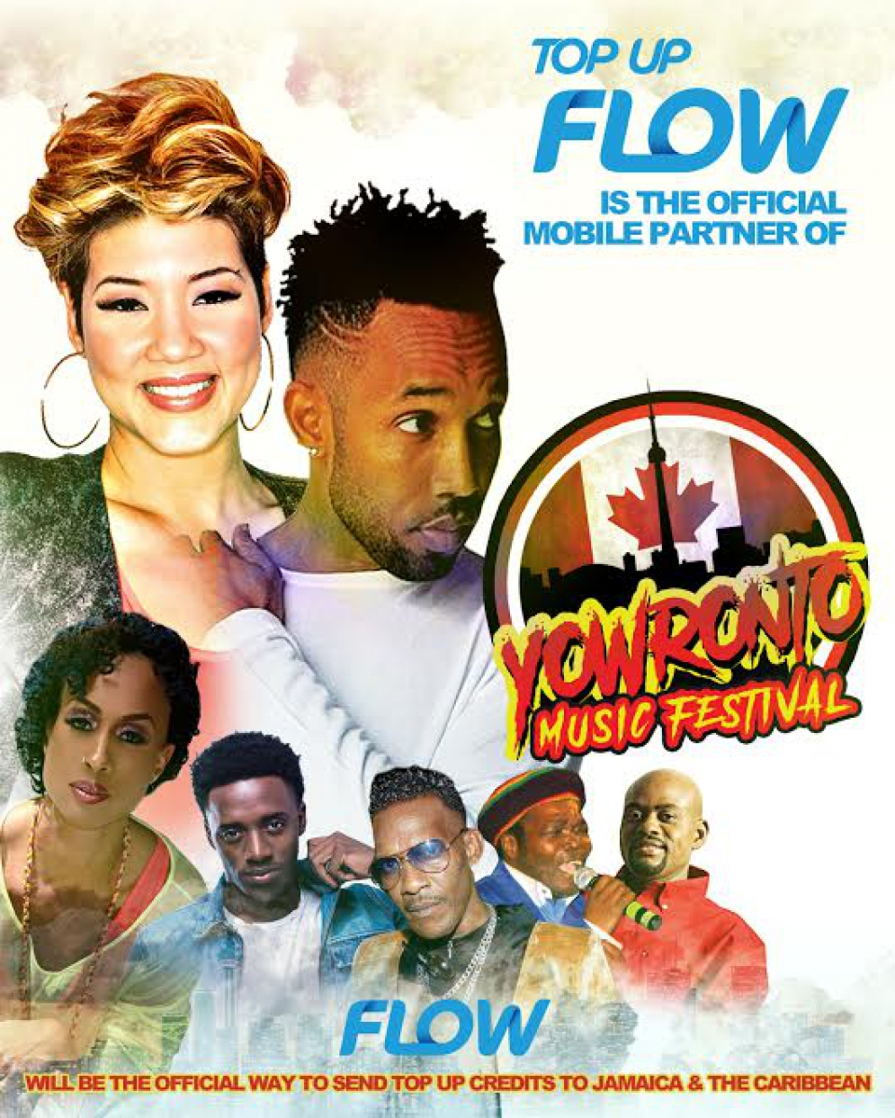 Flow Connects With The Caribbean Diaspora At The @YOWronto Music #Festival in Canada  - Win Free Tickets @matrixthinker #tessannechin