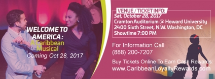 Welcome To America: A Caribbean Musical, Is A Universal Story Of Hope And Aspiration - Coming Oct 28 @thecaribcurrent @matrixthinker #events