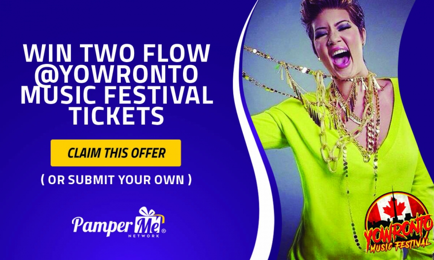 Win Two (2) FLOW @YOWronto Music Festival Tickets - Get Rewarded For Promoting Yourself @matrixthinker #contest #festivals #canada150